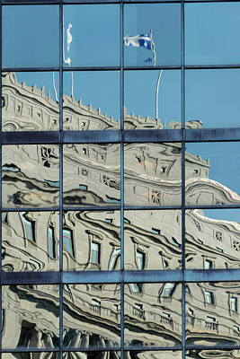 Photograph - Montreal Reflections 3 by Steven Richman