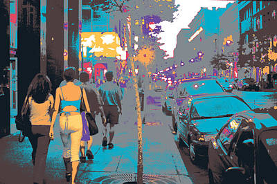 Quebec Mixed Media - Montreal by Shay Culligan
