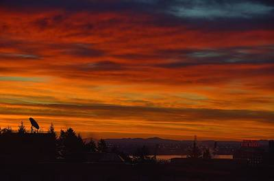 Photograph - Montreal Sunrise by Steven Richman