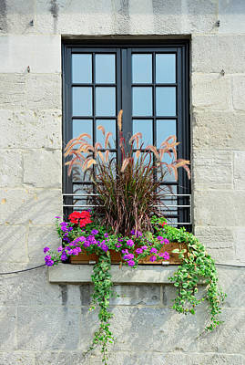 Photograph - Montreal Window by Songquan Deng