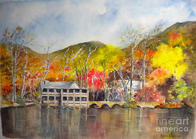 Painting - Montreat, Nc by Madie Horne