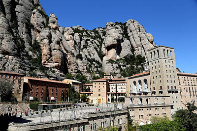 Photograph - Montserrat 3 by Andrew Fare