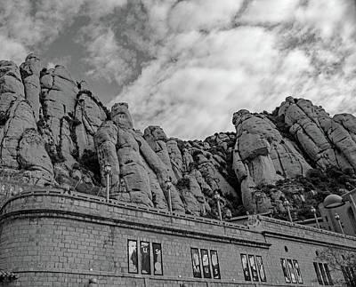 Photograph - Montserrat Abbey by Allan Levin