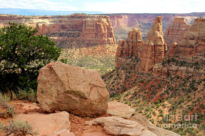 Photograph - Monument Canyon by Frank Townsley