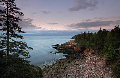 Monument Cove Maine Acadia National Park Art Print by Juergen Roth