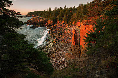 Photograph - Monument Cove by Robert Clifford