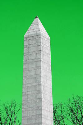 Monument Green Art Print by Tina B Hamilton