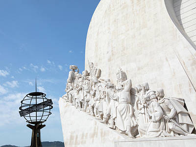Photograph - Monument Of The Discoveries by Rebecca Cozart