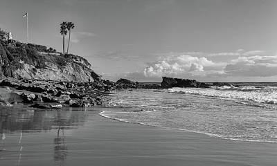 Photograph - Monument Point Laguna Beach by Cliff Wassmann
