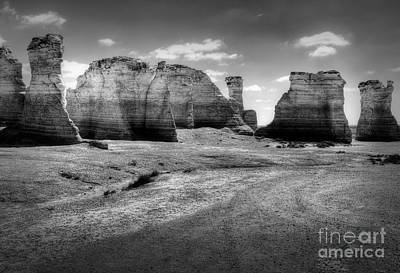 Photograph - Monument Rocks by Fred Lassmann