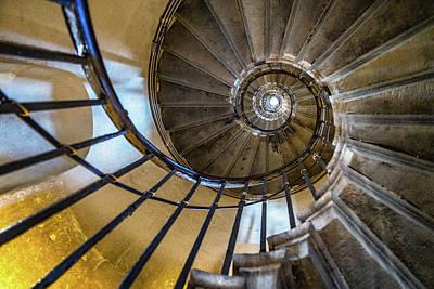 Monument Stairs Art Print by Jae Mishra