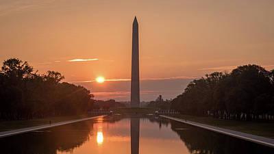 Photograph - Monument Sunrise by Michael Donahue
