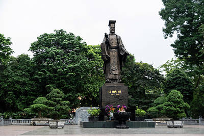 Photograph - Monument To Emperor Le Thai To by Steven Richman