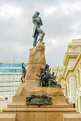 Photograph - Monument To Mariscal Sucre In  Guayaquil, Ecuador  by Marek Poplawski