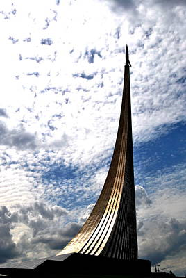 Photograph - Monument To The Conquerors Of Space  by Jacqueline M Lewis