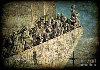 Photograph - Monument To The Discoveries by Sue Melvin