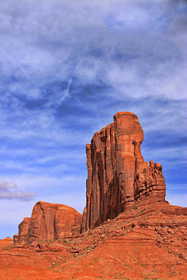Photograph - Monument Valley 11 - North Scenic Road by Allen Beatty