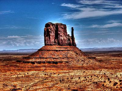 Photograph - Monument Valley 2 by Michael Damiani
