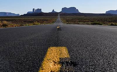 Photograph - Monument Valley Approach by Rand