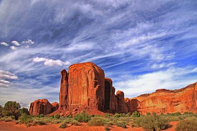 Photograph - Monument Valley 22 - North Valley Drive by Allen Beatty
