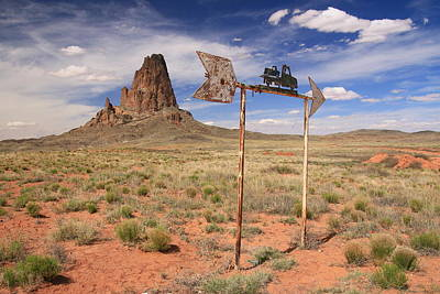 Photograph - Monument Valley 23 - That Way by Allen Beatty