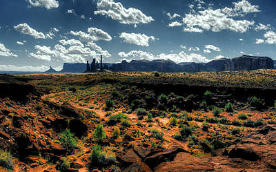 Photograph - Monument Valley 4 by Alex Galkin