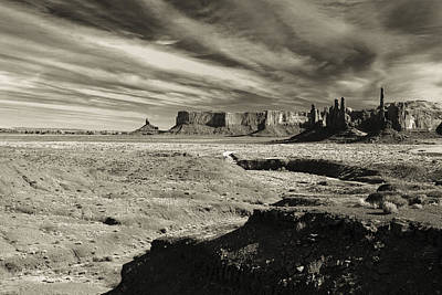 Photograph - Monument Valley 7 by Avril Christophe