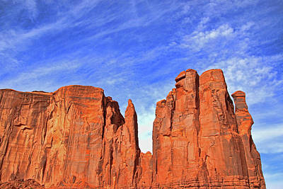 Photograph - Monument Valley 7 - The Hub by Allen Beatty