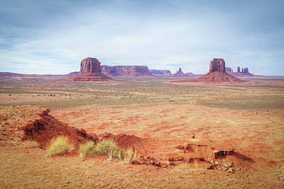 Photograph - Monument Valley Artist's Grove by Ray Devlin