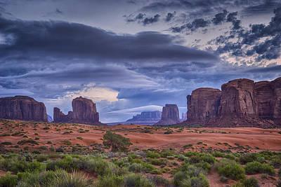 Photograph - Monument Valley Az Dsc03299 by Greg Kluempers
