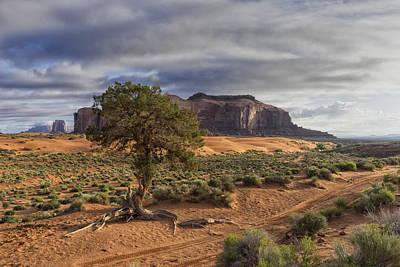 Photograph - Monument Valley Az Dsc03369 by Greg Kluempers