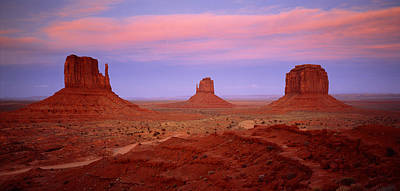 Monument Valley Azut Usa Art Print by Panoramic Images