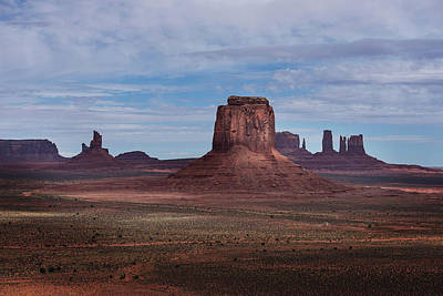 Photograph - Monument Valley by Bud Simpson