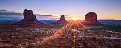 Photograph - Monument Valley by Eduard Moldoveanu