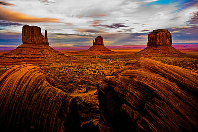 Photograph - Monument Valley by Harry Spitz