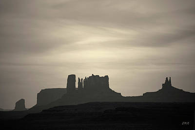 Photograph - Monument Valley IIi Toned by David Gordon