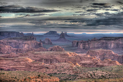 Photograph - Monument Valley  by Indiana Zuckerman