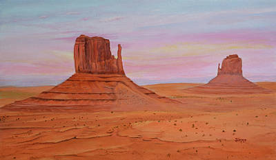Painting - Monument Valley by Jimmie Bartlett