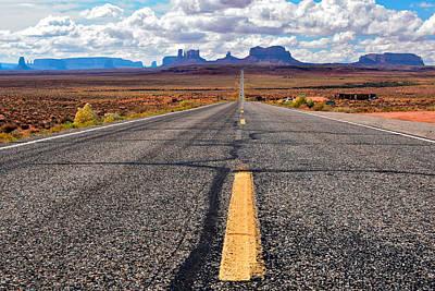 Photograph - Monument Valley by Juraj Simek