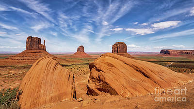 Kitchen Mark Rogan Rights Managed Images - Monument Valley Land and Sky Royalty-Free Image by Jerry Fornarotto