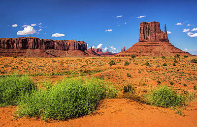 Photograph - Monument Valley Landscape by Carolyn Derstine