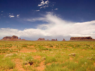 Monument Valley Photograph - Monument Valley Landscape by Phil Stone