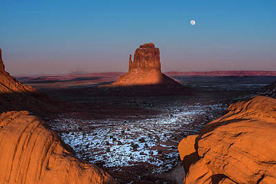 Arizona Photograph - Monument Valley by Larry Marshall
