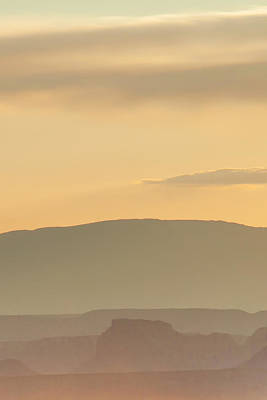 Western Sky Photograph - Monument Valley Layers by Az Jackson