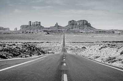 Photograph - Monument Valley by Margaret Pitcher