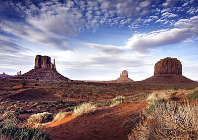 Photograph - Monument Valley  by Michael Damiani