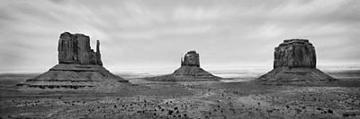 Mesa Digital Art - Monument Valley by Mike McGlothlen
