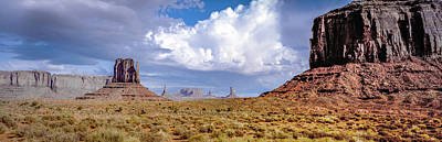 Photograph - Monument Valley Mittens by Gary Shepard