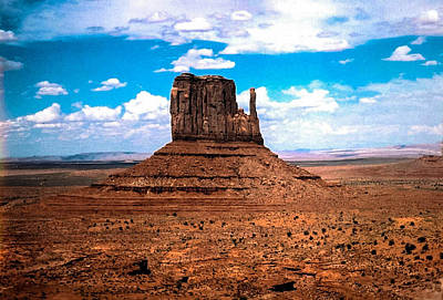 Photograph - Monument Valley Monolith by Tom Zukauskas