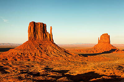 Photograph - Monument Valley National Park Near Sunset by Susan Schmitz